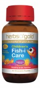 Children's Fish-I Care 60 Chewable Caps Herbs of Gold