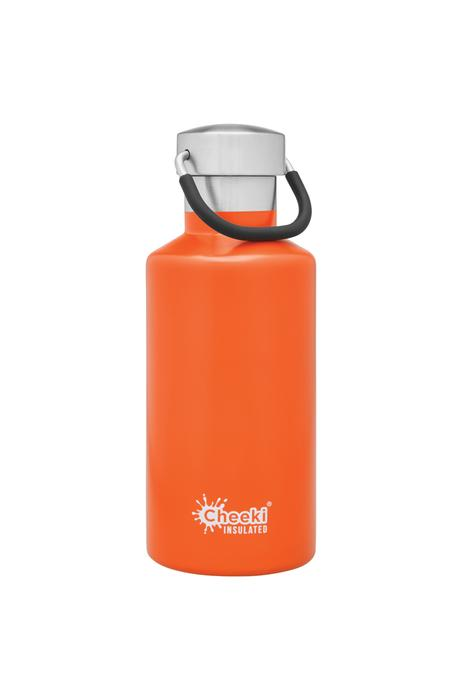 Classic Insulated Bottle - Orange 400ml Cheeki