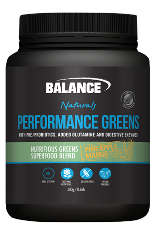 Naturals Performance Greens - Pineapple/Mango 300g Balance