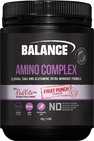 Amino Complex - Fruit Punch Flavour 400gm Balance
