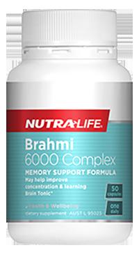 Brahmi 6000 Complex 50 Caps Nutra-Life