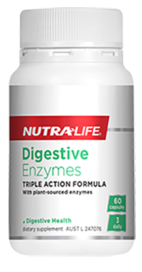 Digestive Enzymes 60 Caps Nutra-Life