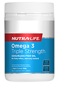 Omega 3 Triple Strength 150 Caps Nutra-Life