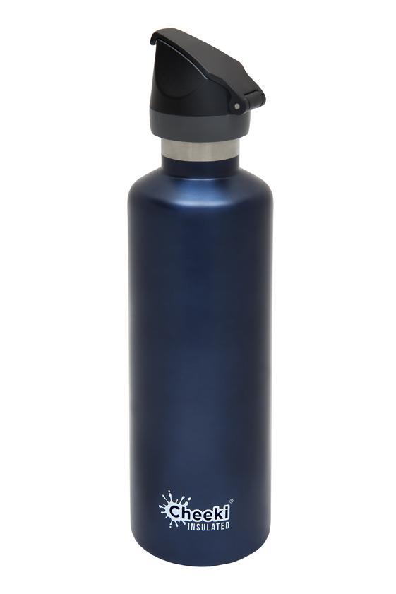 Single Wall Active Bottle - Ocean 750ml Cheeki