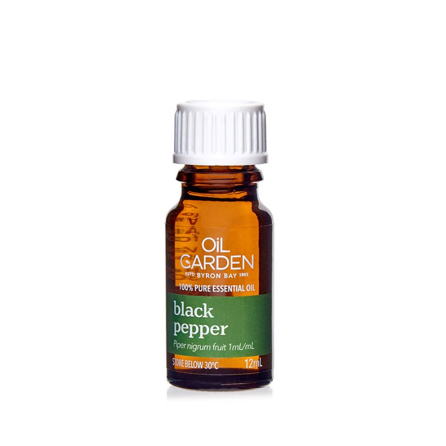 Black Pepper Pure Essential Oil 12mL Oil Garden