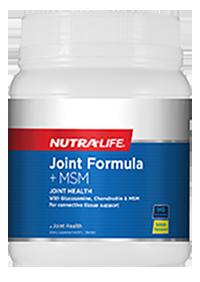 Joint Formula + MSM Lemon Flavour 1kg Nutra-Life