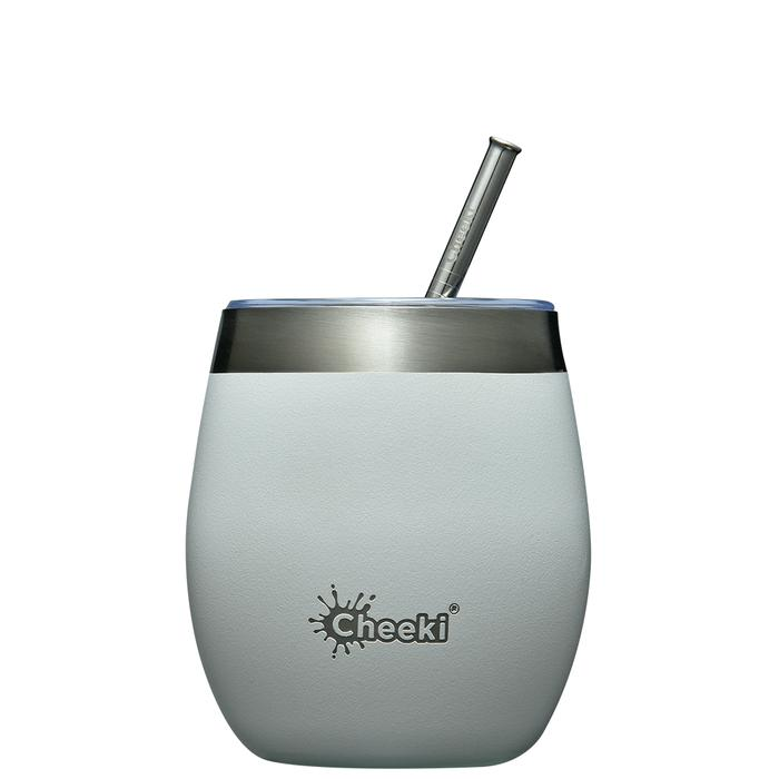 Insulated Wine Tumbler - Spirit White 220ml Cheeki