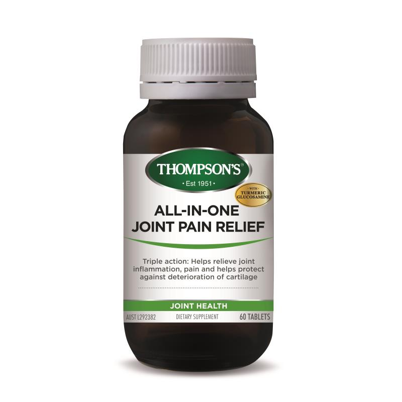All-in-One Joint Pain Relief 60 Tablets Thompson's