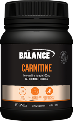 Carnitine 500mg 60 Caps Balance