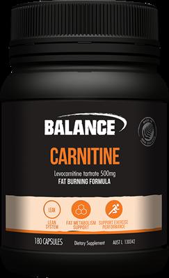 Carnitine 500mg 60 Caps Balance