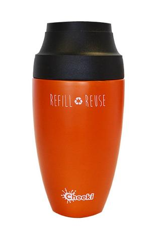 Coffee Mug - Orange 350ml Cheeki