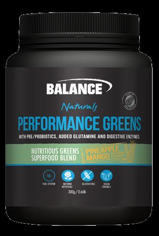 Naturals Performance Greens - Pineapple/Mango 300g Balance