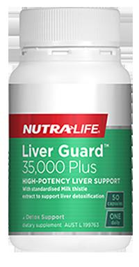 Liver-Guard 50 Caps Nutra-Life