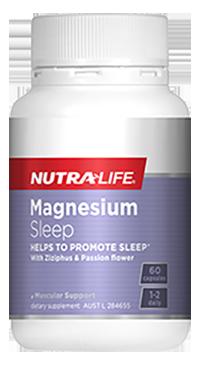 Magnesium Sleep 60 Caps Nutra-Life