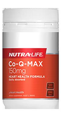 CoQ-Max 150mg 60 Caps Nutra-Life