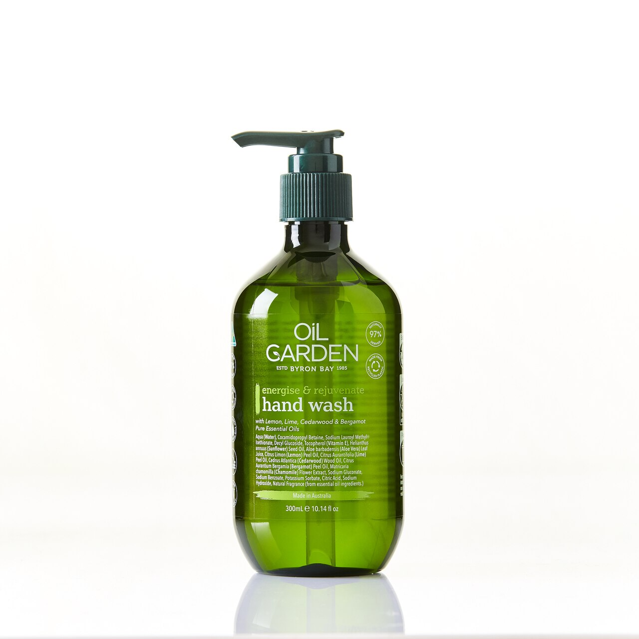 Hand Wash Energise & Rejuvenate 300ml Oil Garden