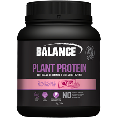 Naturals Plant Protein - Berry 500gm Balance