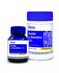 Acetyl L-Carnitine 500mg 180 caps Blooms