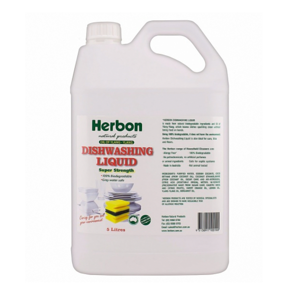 Dishwashing Liquid 5L Herbon