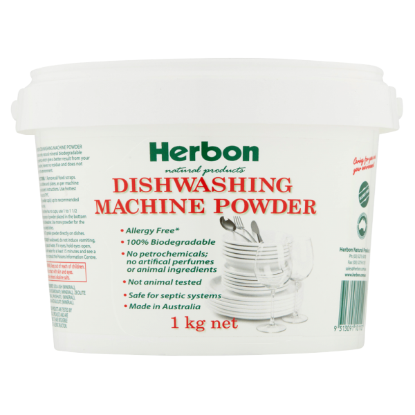 Dishwashing Machine Powder 1kg Herbon