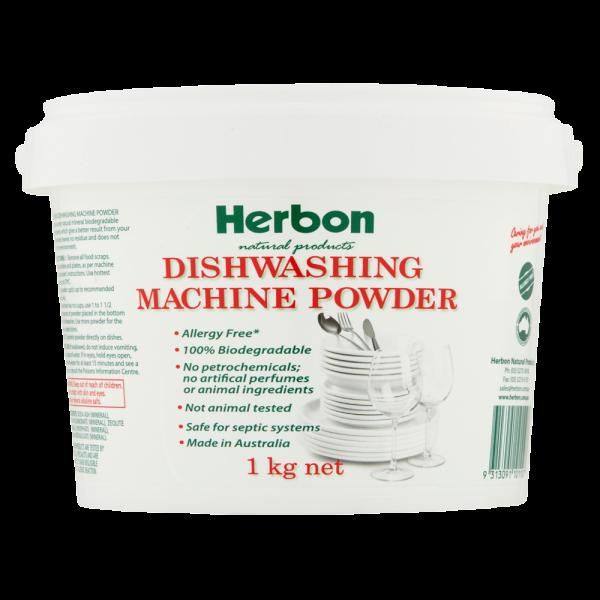Dishwashing Machine Powder 1kg Herbon