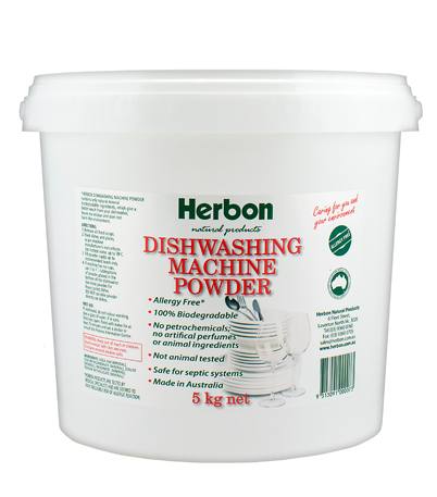 Dishwashing Machine Powder 5kg Herbon