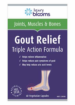 Gout Relief 60 Veg Caps Blooms
