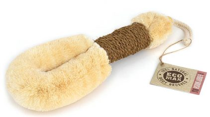 Body Brush Lge Coir Handle Eco Max