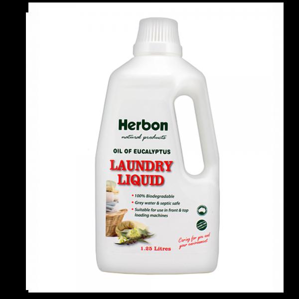 Laundry Liquid Eucalyptus 1.25L Herbon