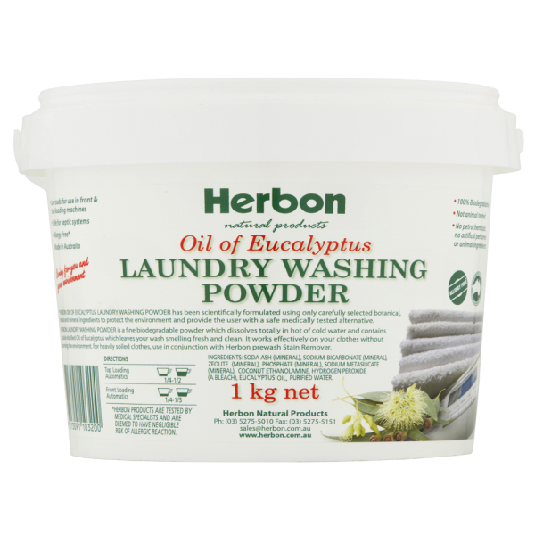 Laundry Washing Powder 1kg Herbon
