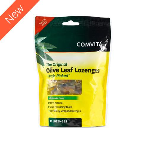 Olive Leaf Lozenges 40 Lozenges Comvita
