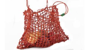 Coconut String Bag Tangerine Araliya Community Company
