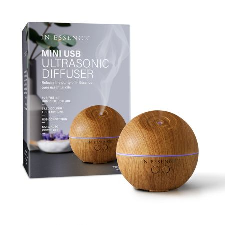 Woodgrain USB Ultrasonic Diffuser In Essence