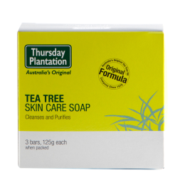 Tea Tree Skin Care Soap (3 x 100g) Thursday Plantation