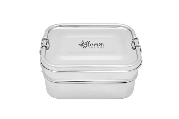 1 Litre Lunch Box - Double Stacker Cheeki