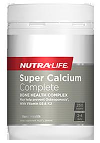 Super Calcium Complete 250 Tabs Nutra-Life