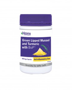 Green Lipped Mussel and Turmeric with BioPTM