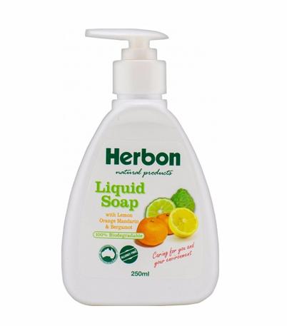 Liquid Soap 250ml Herbon