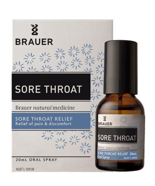 Sore Throat 20ml Brauer