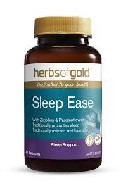 Sleep Ease 60 Vege Caps Herbs of Gold