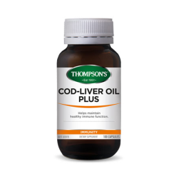 Cod Liver Oil Plus 100 Caps Thompson's