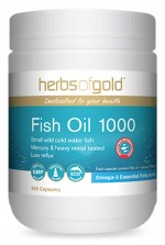 Fish Oil 1000 200 Caps Herbs of Gold