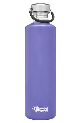 Classic Single Wall Bottle - Lavender 1L Cheeki