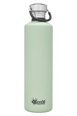 Classic Single Wall Bottle - Pistachio 1L Cheeki