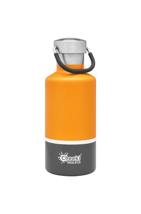 Classic Insulated Bottle - Sunshine Grey 400ml Cheeki