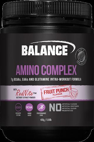Amino Complex - Fruit Punch Flavour 400gm Balance