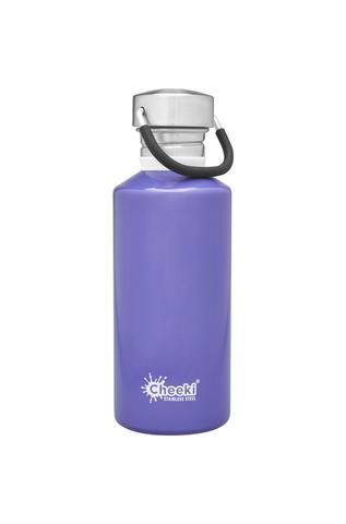 Classic Single Wall Bottle - Lavender 500ml Cheeki