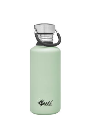 Classic Single Wall Bottle - Pistachio 500ml Cheeki