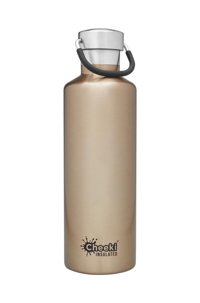 Classic Insulated Bottle - Champagne 600ml Cheeki