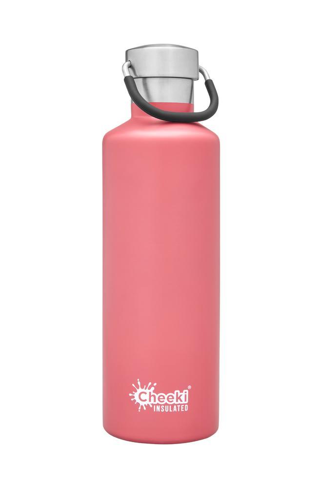 Classic Insulated Bottle - Dusty Pink 600ml Cheeki